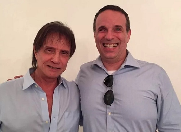 Roberto Carlos e Dudu Braga