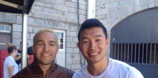 Simu Liu e Pete Wentz
