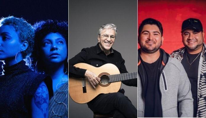 Tuyo, Caetano Veloso e Barões da Pisadinha estão entre indicados ao Grammy Latino 2021