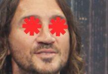 John Frusciante em vídeo de anúncio de turnê do Red Hot Chili Peppers