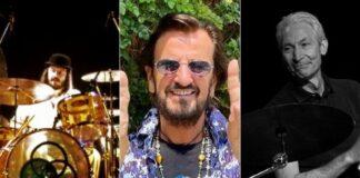 John Bonham, Ringo Starr e Charlie Watts