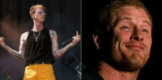Machine Gun Kelly zoa o Slipknot em show