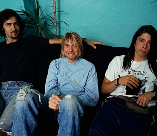 Nirvana (Krist Novoselic, Kurt Cobain, Dave Grohl)