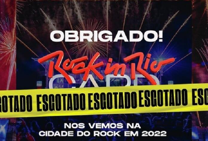 Ingressos antecipados para o Rock in Rio 2022 esgotam em tempo recorde