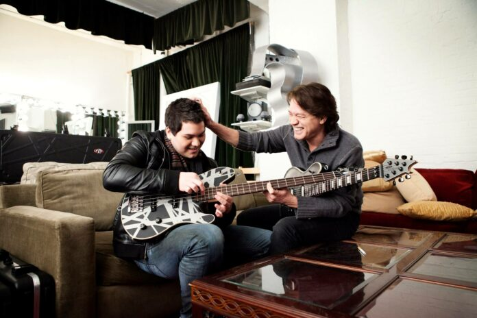 Eddie Van Halen e Wolfgang