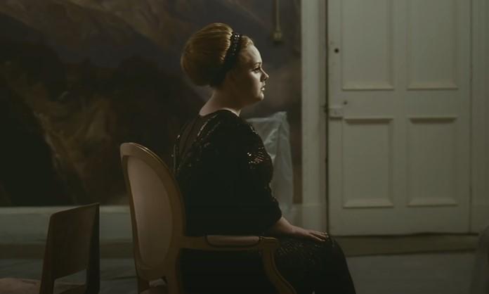 Adele no clipe de