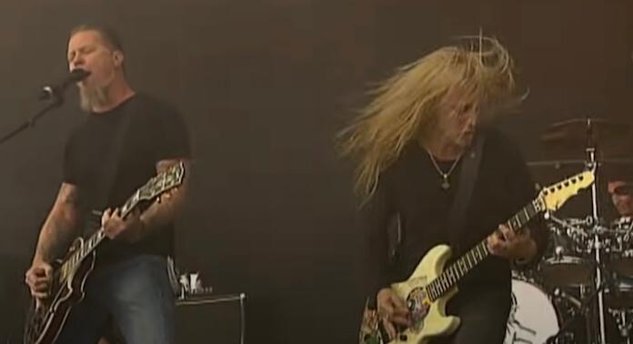 Alice in Chains com James Hetfield