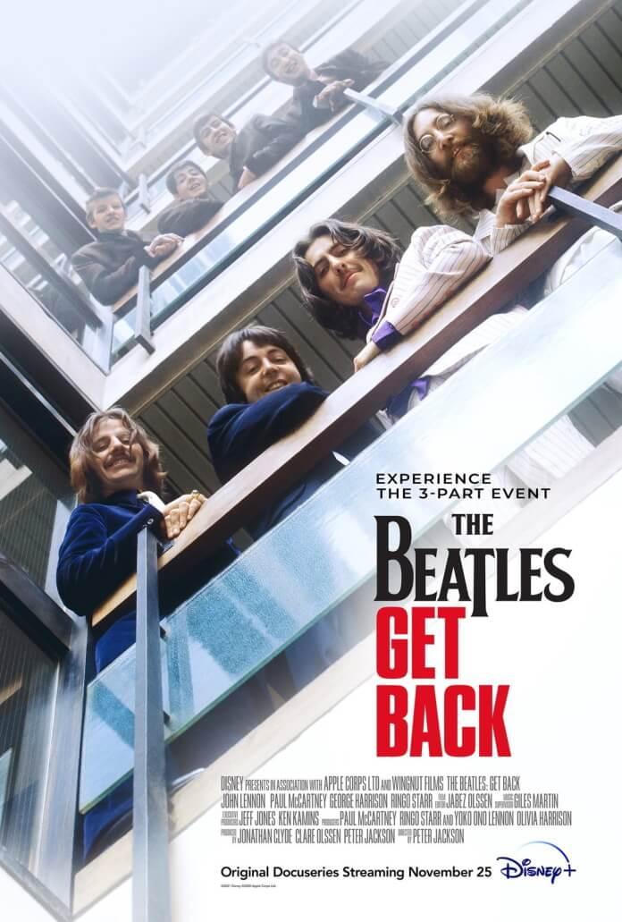 Pôster de Get Back, documentário dos Beatles