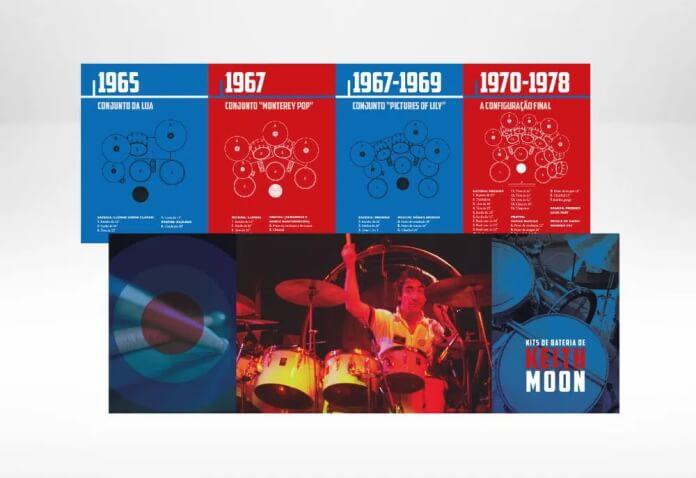 Baterias da carreira de Keith Moon