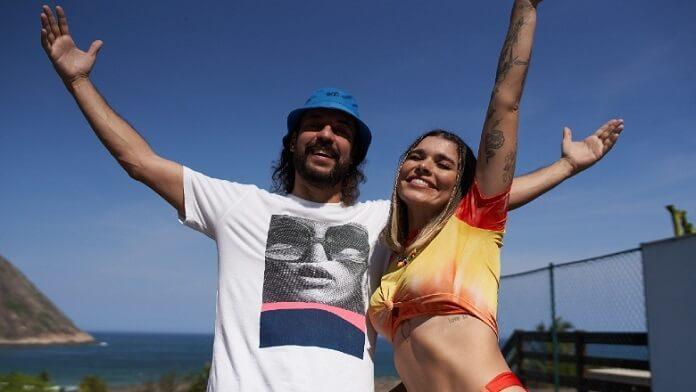 Lary e Gabriel O Pensador curtem um dia na praia no animado clipe de