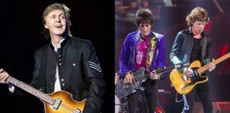 "Paul McCartney chama The Rolling Stones de ""banda cover de blues"""