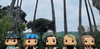 Pearl Jam é homenageado com Funko gigante no Ohana Festival 2021