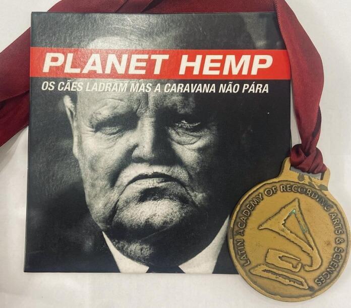 Planet Hemp e a medalha do Grammy Latino