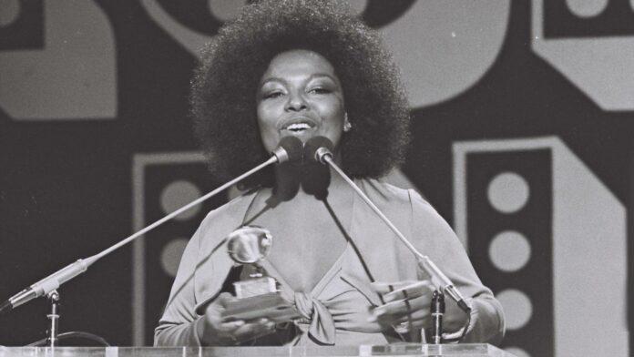Roberta Flack no Grammy de 1974