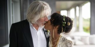 """Aos 78 anos, Roger Waters se casa pela quinta vez e declara: """"Estou muito feliz""""; veja as fotos"""