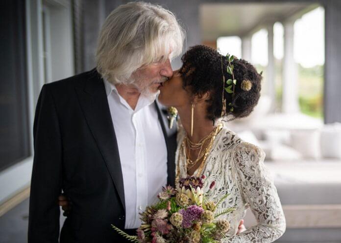 Aos 78 anos, Roger Waters se casa pela quinta vez e declara: