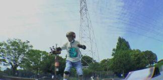 Japonês de 81 anos de idade aprende a andar de skate para ajudar a prevenir a demência