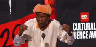 Tyler, the Creator agradece Kanye West, Missy Elliot, Pharrell e mais em discurso emocionante
