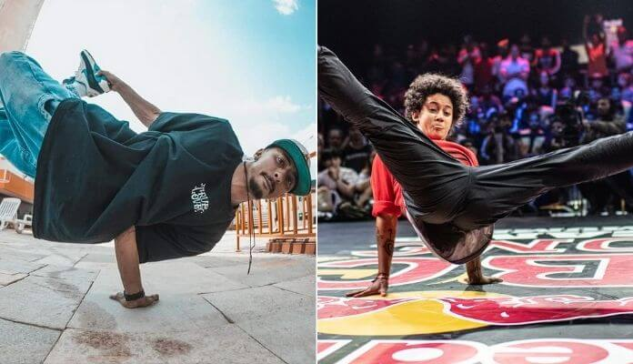 Xandin e ITSA, brasileiros que vão disputar mundial de breakdance